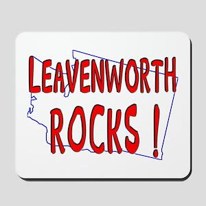 Leavenworth Rocks ! Mousepad
