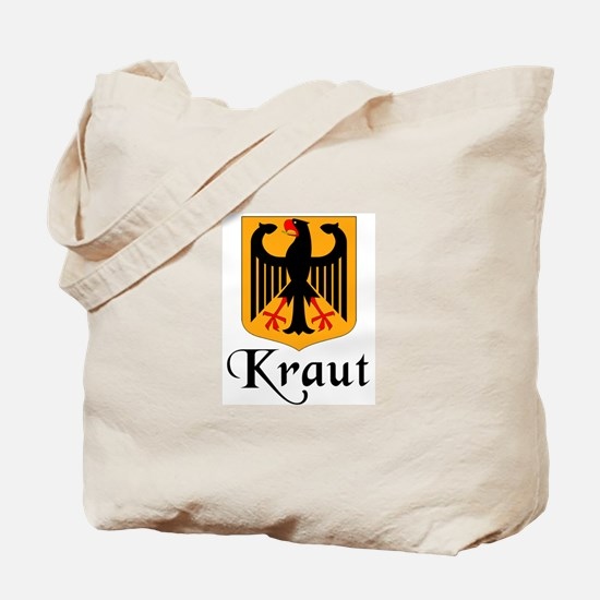 Kraut with Crest  Tote Bag
