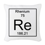 75. Rhenium Woven Throw Pillow