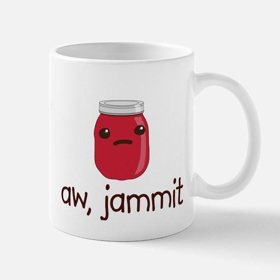 aw, jammit Mugs