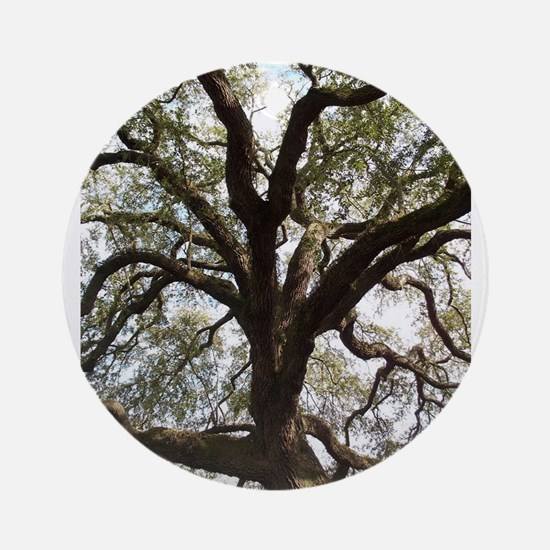 Savannah Oak Round Ornament