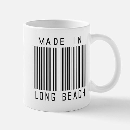 Long Beach barcode Mugs