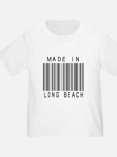 Long Beach barcode T-Shirt