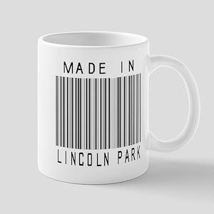 Lincoln Park barcode Mugs
