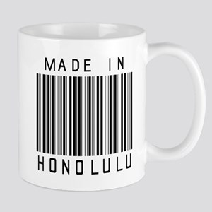 Honolulu barcode Mugs