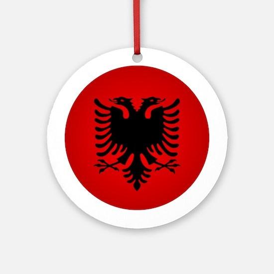 Albania v1 Ornament (Round)