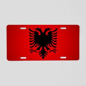 Albania v1 Aluminum License Plate