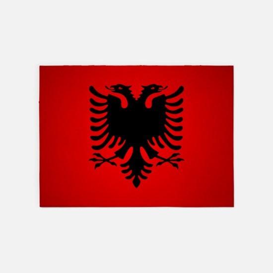Albania v1 5'x7'Area Rug