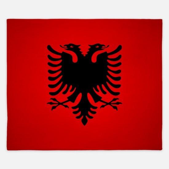 Albania v1 King Duvet