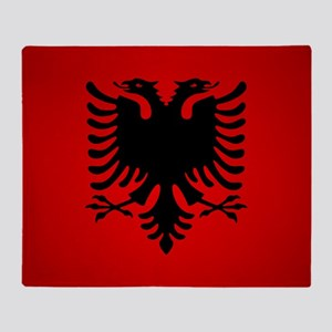 Albania V1 Throw Blanket
