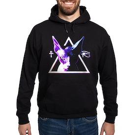 Egyptian Triangle Cat Sweatshirt