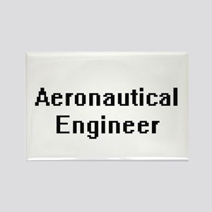 Aeronautical Engineer Retro Digital Job De Magnets
