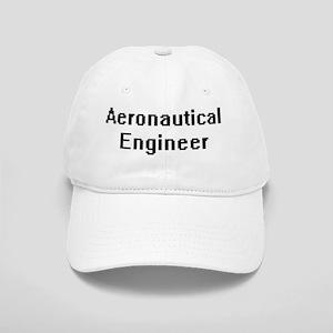Aeronautical Engineer Retro Digital Job Design Cap