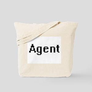Agent Retro Digital Job Design Tote Bag