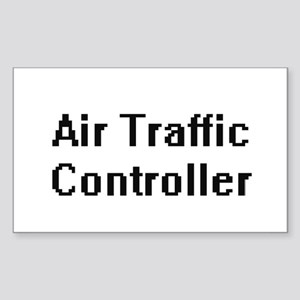 Air Traffic Controller Retro Digital Job D Sticker
