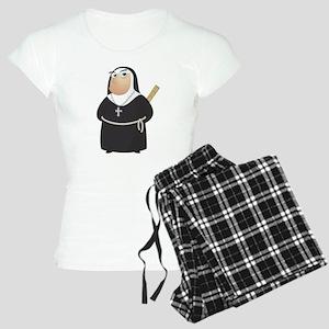 Angry Nun Women's Light Pajamas