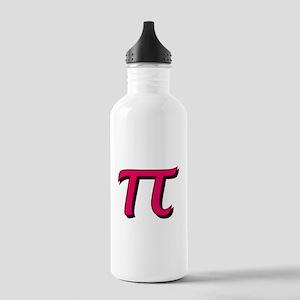 Pi Symbol - Raspberry Stainless Water Bottle 1.0L