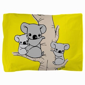 Koala Bears Pillow Sham
