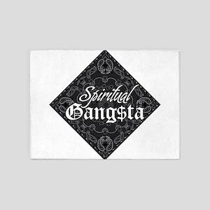 Spiritual Gangsta 5'x7'Area Rug