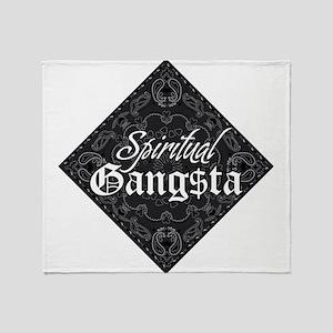 Spiritual Gangsta Throw Blanket