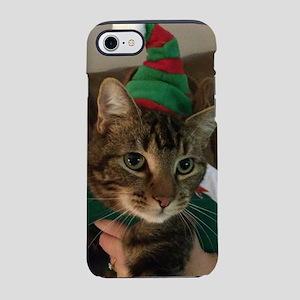 Zeus the Christmas Cat iPhone 7 Tough Case