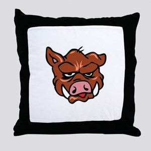BOARS HEAD Throw Pillow