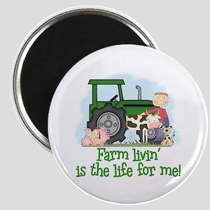 Farm Livin' (Boy) Magnet