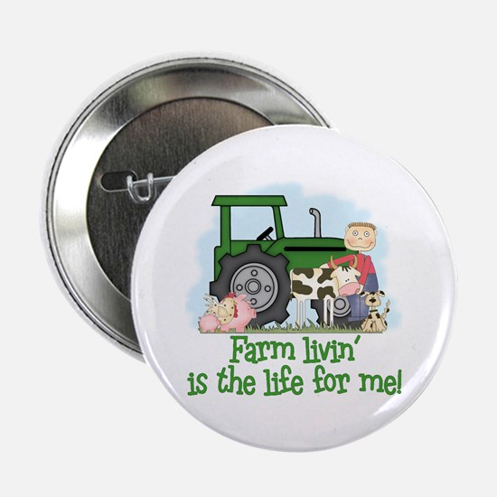 Farm Livin' (Boy) Button