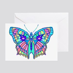 PASTEL BUTTERFLY Greeting Card