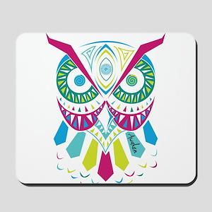 3rd Eye Awaken Owl Mousepad