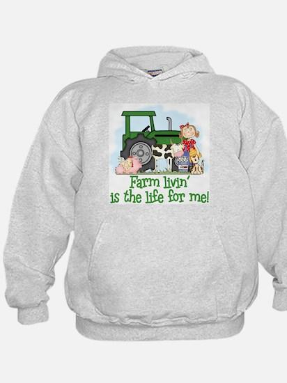 Farm Livin' (Girl) Hoodie