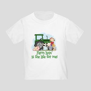 Farm Livin' (Girl) Toddler T-Shirt