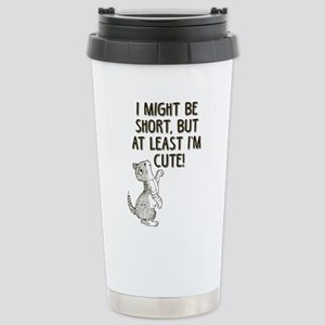 Short and Cute Stainless Steel Travel Mug