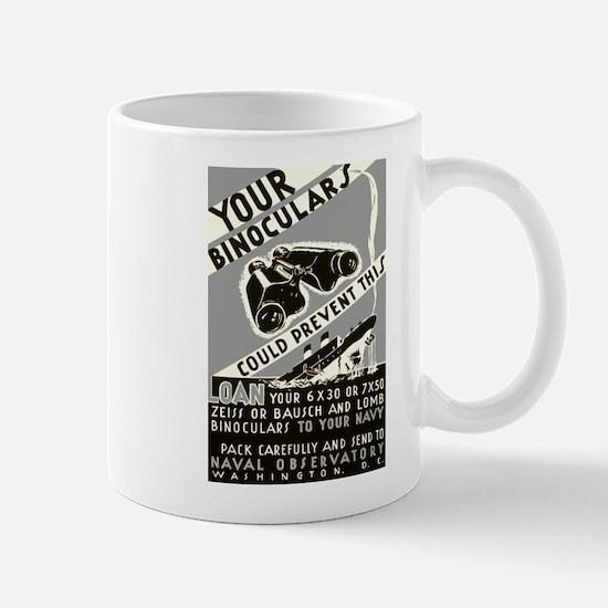 BINOCULAR LOAN coffee cup