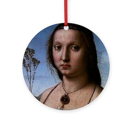 Unique Womens Apparel: Ornament (Round)