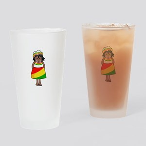 AFRICAN CHILD Drinking Glass