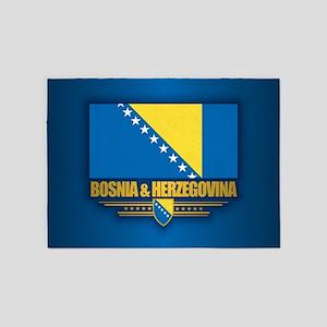 Bosnia and Herzegovina 5'x7'Area Rug