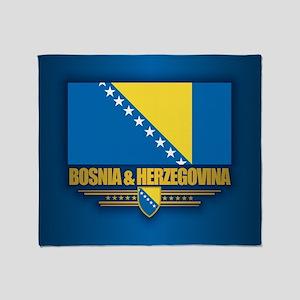 Bosnia and Herzegovina Throw Blanket