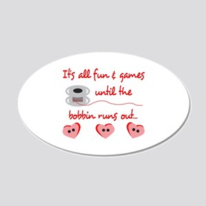 ALL FUN AND GAMES Wall Decal