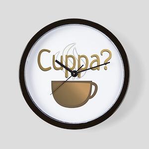 Cuppa? Wall Clock