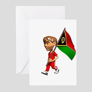 Vanuatu Boy Greeting Cards (Pk of 10)