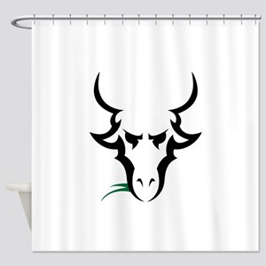 TRIBAL GOAT Shower Curtain