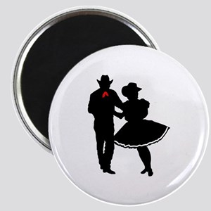 SQUARE DANCERS Magnets