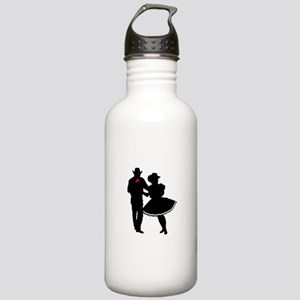 SQUARE DANCERS Water Bottle