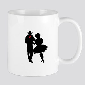 SQUARE DANCERS Mugs