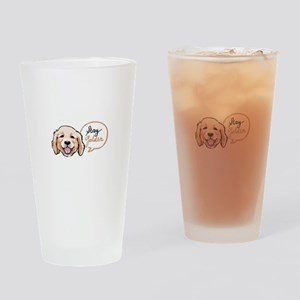 STAY GOLDEN Drinking Glass