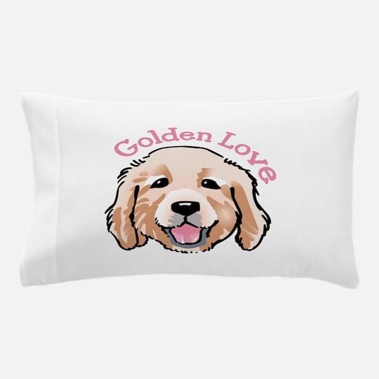 GOLDEN LOVE Pillow Case