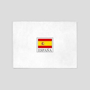 España 5'x7'Area Rug