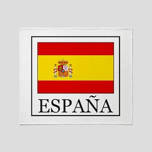 España Throw Blanket