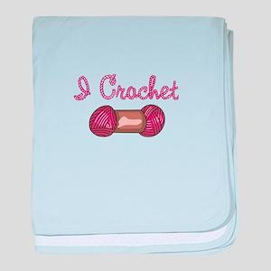 I CROCHET baby blanket